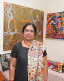 Anjani Reddy-Monart Gallerie - Indian Artists Gallery