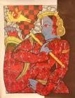 Ramesh Gorjala-Krishna -Monart Gallerie Indian Art Gallery